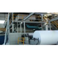 Single S Spunbond Non Woven Machines , PP Nnon Woven Fabric Making Machine Manufactures