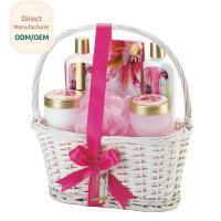 Cosmetic Ladies Toiletries Gift Sets Ingredients Jasmine Lime Blossom PET Jar Manufactures