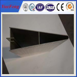 High quality aluminum profile factory/ OEM triangle aluminum extrusion profile Manufactures
