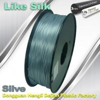 Polymer Composites 3d Printer filament  1.75 / 3.0 mm  ,Imitation Like Silk Filament ,High Gloss Manufactures