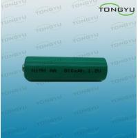 China 800mAh 1.2V Ni-Mh Rechargeable Battery Cell AA for Electric Toys , Razors on sale