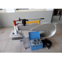 Manual Hydraulic Press Rubber Belt Repair Machine Equipped With Wheels Manufactures
