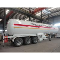 China 2019s new best price 49.6cbm LPG gas semitrailer for sale, factory sale cheapest price 20tons road transported lpg tank on sale