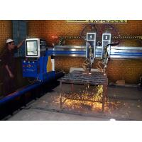 Iron / Stainless Steel Plasma Cutter Flame Cutting Equipment Customized CNC