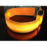 Super Small Red Elastic Reflective Snap Armband Manufactures