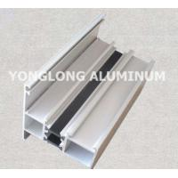Spray Powder Coated Aluminum Curtain Wall Profile Length Customized Manufactures