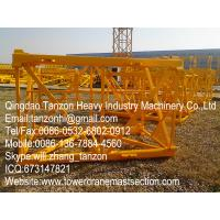 Q345B Steel Tower Crane Standard Section Exchangeable with Plated type L68B1 / L68B2 Manufactures