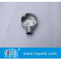 TOPELE BS4568 / BS31 Malleable Iron / Aluminum One Way Terminal Electrical Conduit Circular Junction Box Manufactures