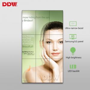 500nits High Brightness Large Video Wall Displays , 55'' Videowall LCD TV Screens