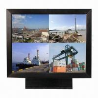 15-inch Professional CCTV LCD Monitor with Metal Case, Built-in VGA/BNC Input and Optional VESA Manufactures
