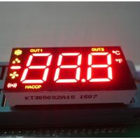 Ultra Red / Yellow 7 Segment LED Display 0.5 Inch Common Anode For Refrigerator Control Manufactures
