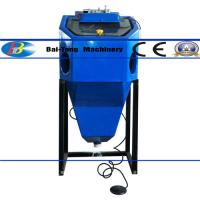 Buy cheap Mini Suction Type Wet Sandblasting Cabinet 450*450*400mm Work Cabinet from wholesalers