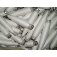 China Ring Spun Polyester Sewing Thread Raw White 30s/1 Close Virgin on sale