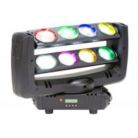 Quality Double Row Spider Led Light RGBW 8pcs 10 Watts LED Moving Head Light for sale