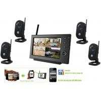 Quality 2.4GHz Wireless Surveillance Camera Systems, Remote view security cctv systems for sale