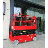 China 16m working height access platform plataforma elevadora self-propelled electric hydraulic scissor lift with CE on sale