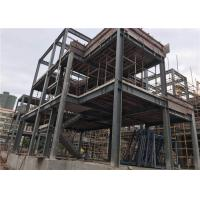 H Section Steel Prefab Villa Steel Structure Homes With Cement Board Manufactures