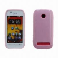 Case for Nokia 603, Made of Imported Eco-friendly TPU, Jelly Colors  Manufactures