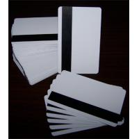 China Blank Magnetic Card/Flexible Magnetic Card/Paper Magnetic Card/Blank Magnetic Stripe Cards on sale