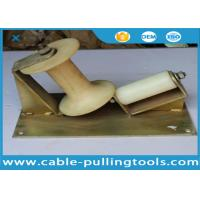 10KN Corner Cable Pulling Roller With Nylon Wheel For Cable Pulling Manufactures