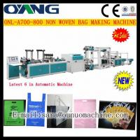 Quality ONL-A 700-800 Full automatic non woven handle bag making machine price for sale
