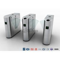IP54 Anti - Breakthrough Flap Barrier Gate Speed Automatic With Barcode