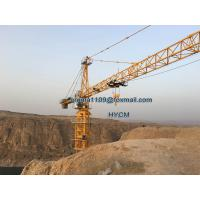 China 12TONS QTZ7030 Building Construction Materials Tower Crane 70M Boom on sale