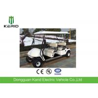 Fuel Type White Electric Golf Carts , 4 Passengers Golf Buggy Car Manufactures