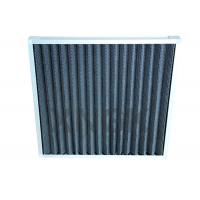China 24 * 24 * 2 Activated Carbon Pre Air Filter Removing Odor Customized Size on sale