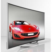 50 Inch Curved 4K TV / Curved Flat Screen TV Narrow Bezel Full HD1080P Manufactures