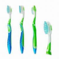 Buy cheap Toothbrushes for Adults, Extra Soft Rounded Bristles with an Oval Head from wholesalers