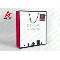 Quality Personalized 200gsm Matt Art Paper Bags For Wedding Party Customer Service for sale
