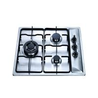 Buy cheap 3 Burner Stainless Steel LPG Gas Hob With Safety Device , 3 Burner Steel Gas Stove from wholesalers