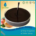 DOWCROP Hot Sale High Quality SWEETENER INDUCE  AMINO POLYPEPTIDE LIQUI100% Organic fertilizer PLANT ORIGINAL AMINO ACID Manufactures