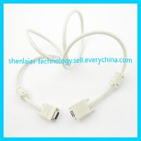 China Black 15 Pin D-sub VGA Cable to TV on sale
