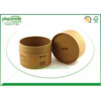 Handmade Cardboard Tube Boxes Embossing Surface Finish Damp - Proof Eco - Friendly Manufactures