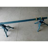 10KN - 50KN Simple Reel Payout Stand Cable Drum Jack For Releasing Wire Manually Manufactures
