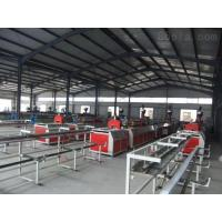 60HZ Full Automatic Plastic Profile Extrusion Line With Double Conical Screw Manufactures