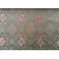 Paisley Jacquard Woven Fabric / Yarn Dyed Fabric For Home Textile Manufactures