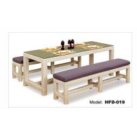 Modern Rattan Dining Table And Chair Long table and chair Manufactures