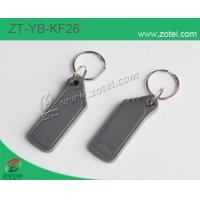 ABS key tag/keyfob/keyring,Model:ZT-YB-KF26,49×20×5.5mm Manufactures