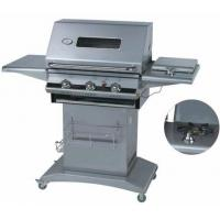3 Burners Gas Grill with Glass Window Manufactures