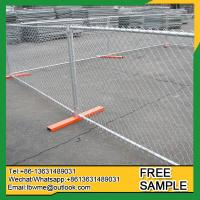 Bollon temporary fencing welded wire mesh portable fence construction fence Manufactures