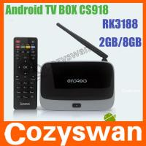 China Full HD Android Mini PC Box CS918 Bluetooth RK3188 Quad Core on sale