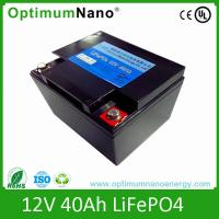 CC / CV Charge Method Lithium Deep Cycle Battery High Energy Density 2000 Cycles Life Manufactures