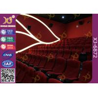 Modern Irwin Style Recline Backrest Cinema Theater Seating For IMAX Cinema Manufactures