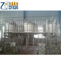 Hotels 15 Bbl Brewing System , Turnkey Brewery Equipment With Steam Jacket Manufactures