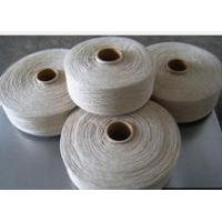 China Flax cotton blended grey yarn on sale