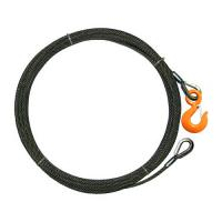 Flexible Winch Line Extension , Rope Winch Cable AISI Standard 0.3-11mm Wire Gauge Manufactures