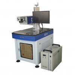 UV Laser Marking Machine Water Cooling 3W With High Speed Galva Mirror Scanner Manufactures